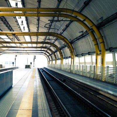 Fotomural Estação de trem