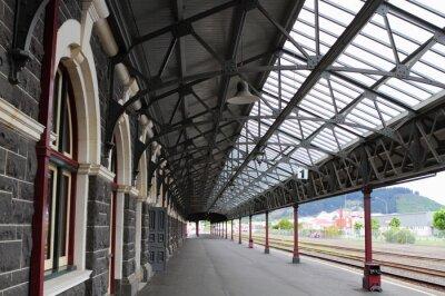 Fotomural Estação Ferroviária de Dunedin