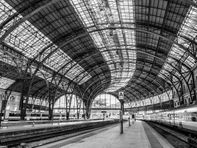Fotomural Estação França, Barcelona