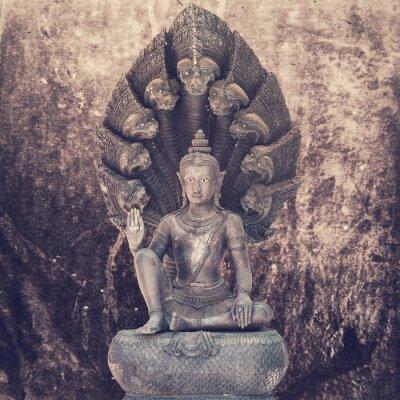 Fotomural Estátua de buddha de assento