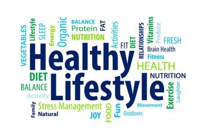 Fotomural Estilo de vida saudável
