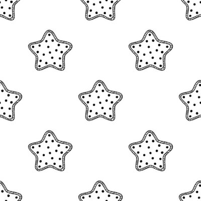 Fotomural Estrelas de madeira padrão 2