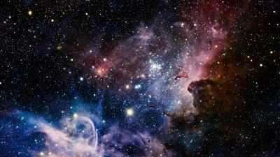 Fotomural Estrelas nebulosa no espaço. Elementos desta imagem fornecidos pela NASA