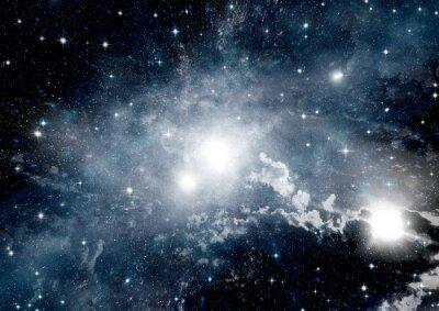 Fotomural Estrelas, poeira e nebulosa de gás