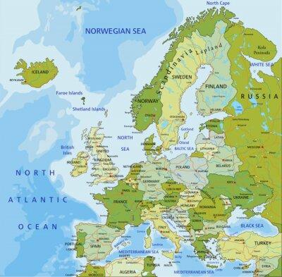 Fotomural Europa.