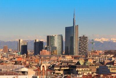 Fotomural Exibições de Milão, Itália
