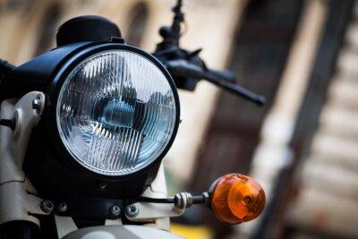 Fotomural Farol clássico da motocicleta