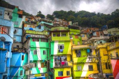 Fotomural favela
