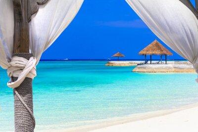 Fotomural Férias relaxantes no paraíso tropical