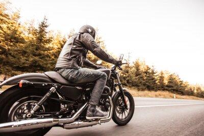 Fotomural Fim, cima, alto, poder, motocicleta
