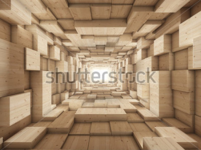 Fotomural fim do túnel