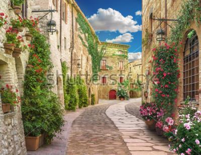 Fotomural Flolar, old Italy street
