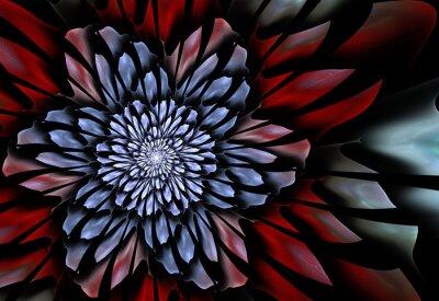 Fotomural Flor abstrata do fractal