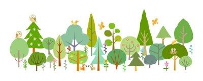 Fotomural floresta-D