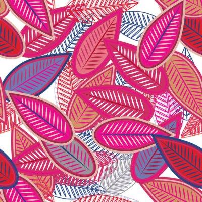 Fotomural folhas-de-rosa