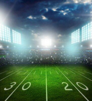 Fotomural Football, american, stadium.