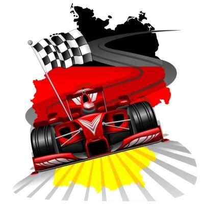 Fotomural Formula 1 GP Alemanha