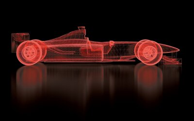 Fotomural Formula One malha