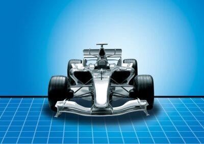 Fotomural fórmula um, o conceito de velocidade