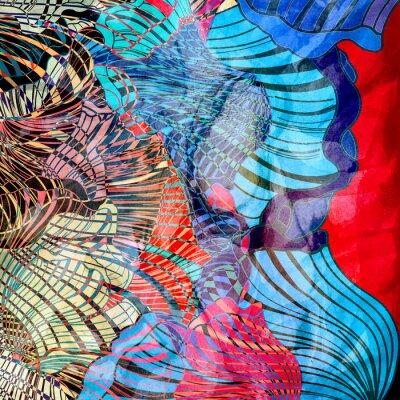 Fotomural Fundo abstrato colorido