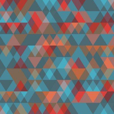 Fotomural Fundo abstrato com triângulos. Ilustração do vetor.