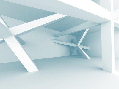Fotomural Fundo Abstrato Da Arquitetura. Estrutura da Construção