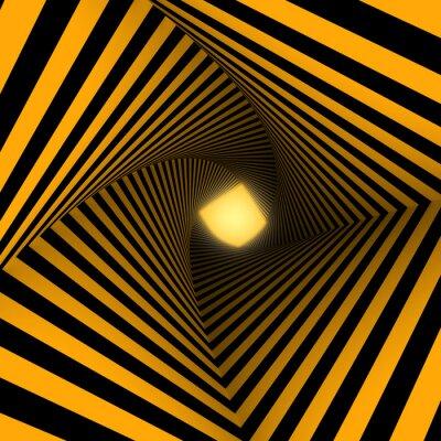 Fotomural fundo amarelo e preto