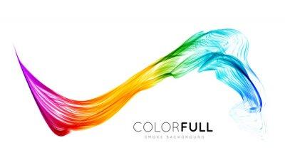 Fotomural Fundo colorido abstrato.