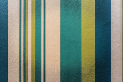 Fotomural Fundo colorido abstrato do vintage com teste padrão da listra na parede