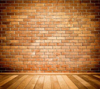 Fotomural Fundo da parede de tijolo.
