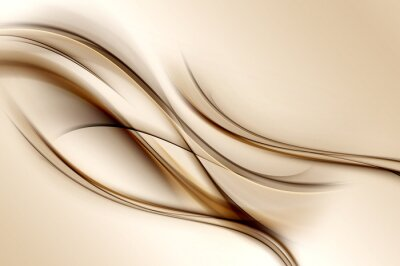 Fotomural Fundo das ondas de Brown