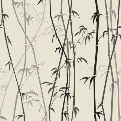 Fotomural Fundo de bambu