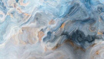 Fotomural Fundo de mármore azul