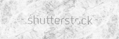 Fotomural fundo de mármore branco elegante horizontal.