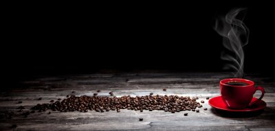 Fotomural Fundo do café