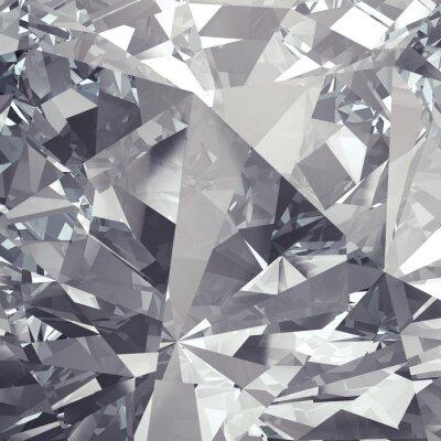 Fotomural fundo faceta de cristal
