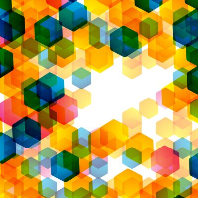 Fotomural Fundo geométrico