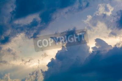 Fotomural Fundo natural do céu e das nuvens