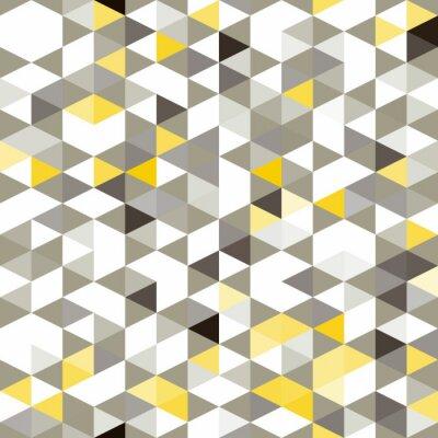 Fotomural Fundo sem emenda com formas geométricas abstratas