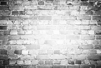 Fotomural Fundo velho do brickwall