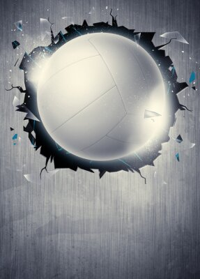 Fotomural Fundo Voleibol