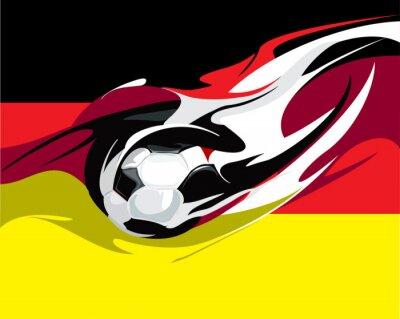 Fotomural Futebol alemão