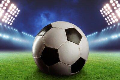 Fotomural Futebol no campo de futebol