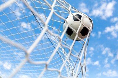 Fotomural Futebol, objetivo, bola de futebol.