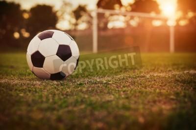Fotomural Futebol, pôr do sol