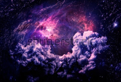 Fotomural Galáxia Dreamscape - elementos desta imagem fornecidos pela NASA