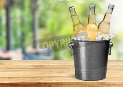 Fotomural Garrafa de cerveja.