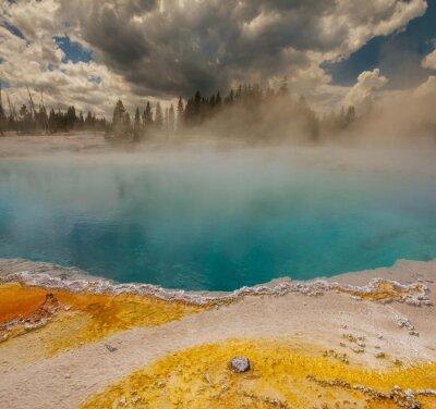 Fotomural Geyser em Yellowstone