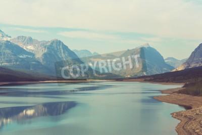 Fotomural Glacier National Park, Montana, EUA