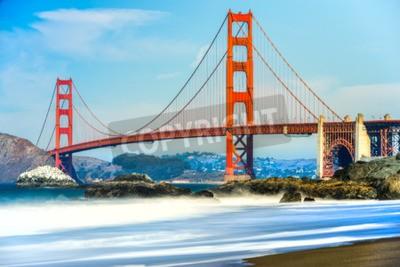 Fotomural Golden Gate Bridge em San Francisco, Califórnia, EUA.